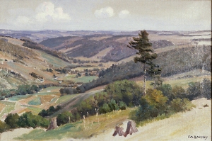 Finger Lakes Landscape - Private Collection